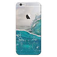 Недорогие Кейсы для iPhone 8-Назначение iPhone 8 iPhone 8 Plus iPhone 7 iPhone 6 Кейс для iPhone 5 Чехлы панели Полупрозрачный Задняя крышка Кейс для Пейзаж Мягкий