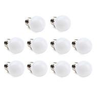 halpa LED-pallolamput-1W 70-100 lm E26/E27 LED-pallolamput 12 ledit SMD 3528 Lämmin valkoinen Kylmä valkoinen AC 220-240V