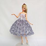 abordables Muñecas y Peluches-por Muñeca Barbie  Vestidos por Chica de muñeca de juguete