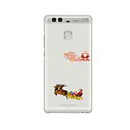 Недорогие Чехлы и кейсы для Huawei Honor-Кейс для Назначение Huawei P9 Huawei P9 Lite Huawei P8 Huawei Honor 6 Huawei Huawei Honor 4C Huawei P9 Plus Huawei P8 Max Huawei P7