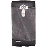 voordelige Telefoon hoesjes-Voor lg k10 k8 schokbestendige behuizing achterkant behuizing vaste kleur hard pu leer voor lg k7 lg g5 lg g4 lg g3 lg nexus 5