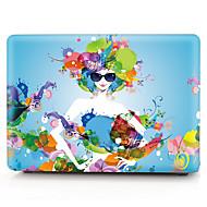 お買い得  MacBook 用ケース/バッグ/スリーブ-MacBook ケース / ラップトップケース のために フラワー プラスチック MacBook Air 13インチ / MacBook Pro 13インチ / MacBook Air 11インチ