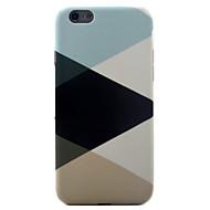 Недорогие Кейсы для iPhone 8 Plus-Кейс для Назначение Apple iPhone X iPhone 8 iPhone 6 iPhone 7 Plus iPhone 7 С узором Кейс на заднюю панель Геометрический рисунок Мягкий