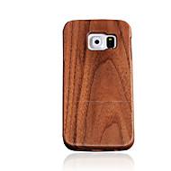 Для Other Кейс для Задняя крышка Кейс для Один цвет Твердый Дерево для Samsung S7 / S6 edge / S6 / S5 / S4