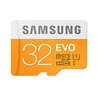 abordables Tarjetas de Memoria-SAMSUNG 32GB Tarjeta TF tarjeta Micro SD tarjeta de memoria UHS-I U1 Clase 10 EVO