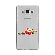 hoesje Voor Samsung Galaxy A5(2016) A3(2016) Patroon Achterkantje Kerstmis Zacht TPU voor A9(2016) A7(2016) A5(2016) A3(2016) A9 A8 A7 A5