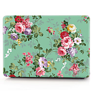 お買い得  MacBook 用ケース/バッグ/スリーブ-MacBook ケース / ラップトップケース フラワー プラスチック のために MacBook Air 13インチ / MacBook Pro 13インチ / MacBook Air 11インチ