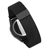 お買い得  Huawei 腕時計バンド-Huawei社の時計ウィジングズのactivitのためのスマートな時計バンドpinhen 18ミリメートルのステンレス製ミラネーゼ・メッシュ・時計バンド