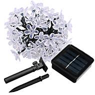 お買い得  -JIAWEN ストリングライト 50 LED 温白色 RGB ホワイト 防水