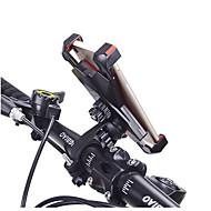 Cykel Universal / Mobiltelefon Monter stativholder Justerbar Stander / 360° Rotation Universal / Mobiltelefon ABS Holder