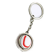 cheap Classic Toys-Key Chain Toys Key Chain Novelty Baseball Metal Pieces Girls' Boys' Gift