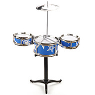 cheap Toys & Hobbies-Drum Set Toy Instruments Toys Drum Set Jazz Drum Plastic 1 Pieces Children's Boys' Girls' Gift