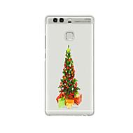 のために パターン ケース バックカバー ケース クリスマス ソフト TPU のために HuaweiHuawei社P9 / Huawei社P9ライト / Huawei P9 Plus / Huawei社P8 / Huawei P8 Lite / Huawei P8 Max