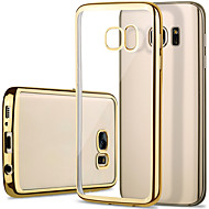 for Samsung Galaxy S7 edge case plating Classic Luxury Mobile Phone TPU Soft Shell Plating Galaxy S7 S6 S6 edge