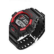 preiswerte -SANDA Herrn Armbanduhr Sportuhr Militäruhr Smart Watch Modeuhr digital Japanischer Quartz Chronograph Wasserdicht LED Stopuhr Nachts