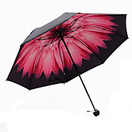 핑크 접는 우산 양산 Plastic 유모차