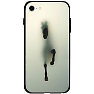 Назначение iPhone X iPhone 8 iPhone 7 iPhone 6 Кейс для iPhone 5 Чехлы панели С узором Задняя крышка Кейс для Животное Мягкий Акриловое