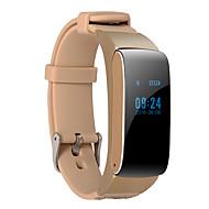 Недорогие Браслеты и трекеры для активного образа жизни-D22 Смарт-часы Смарт-браслет наушник Ремешки на руку Android Сенсорный экран Израсходовано калорий Педометры Регистрация деятельности