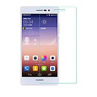 お買い得  スクリーンプロテクター-スクリーンプロテクター Huawei のために Huawei P7 強化ガラス 1枚 ハイディフィニション(HD)