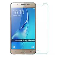 お買い得  Samsung 用スクリーンプロテクター-スクリーンプロテクター Samsung Galaxy のために J5 Prime 強化ガラス 2 PCS スクリーンプロテクター 超薄型 2.5Dラウンドカットエッジ 硬度9H ハイディフィニション(HD)