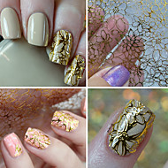 1 Nail Art Sticker 3D Nagelstickers make-up Cosmetische Nail Art Design