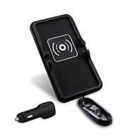 mindzo univerzális 5v2a autós vezeték nélküli töltő jármű csatolja tartó qi szabvány qi okostelefon