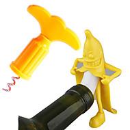 abordables Accesorios innovadores-Tapones del Vino El plastico, Vino Accesorios Alta calidad CreativoforBarware 11.0*6.0*6.0 0.032