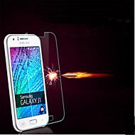 voordelige Other Serie Screenprotectors voor Samsung-explosieveilige premium gehard glas filmdoek beschermkap 0,3 mm gehard membraan boog voor Galaxy J1