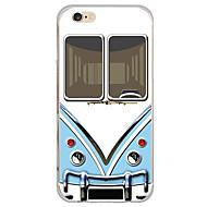 Недорогие Кейсы для iPhone 8-Кейс для Назначение Apple iPhone X iPhone 8 Кейс для iPhone 5 iPhone 6 iPhone 7 Ультратонкий Полупрозрачный Кейс на заднюю панель