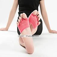 olcso Sportruházat-Női Zoknik Lábujjas zoknik Csúszásgátló zoknik Sportzoknik Jóga Pilates Viselhető Légáteresztő Csúszásgátló Kényelmes Védő - 1 pár Divat