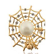 זול -סיכת אשת סגסוגת קורי עכביש אופנה