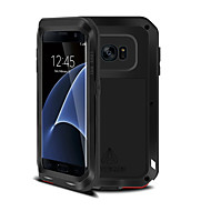 For Samsung Galaxy S7 Edge Stødsikker Etui Heldækkende Etui Armeret Metal for Samsung S7 edge S7 S6 edge plus