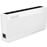 levne -Tenda S108 8 portů Ethernet Switch malé a inteligentní desktop switch 8 * 10/100 Mbps RJ45 porty POE sítí Switche
