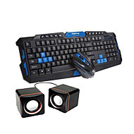 Wireless 2.4GHz Gaming Mouse and keyboard combo with free gift(Speaker)