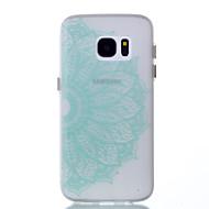 Назначение Чехлы панели Сияние в темноте Задняя крышка Кейс для Кружева Печать Мягкий Термопластик для SSamsung Galaxy S8 S8 Plus S7 edge