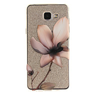 voordelige Galaxy A-serie hoesjes / covers-hoesje Voor Samsung Galaxy A5(2016) A3(2016) IMD Transparant Patroon Achterkantje Bloem Zacht TPU voor A5(2016) A3(2016) A5 A3