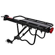 אופני מטען ארון אחורי העמסה מקסימלית 50 kg מתכווננת קל להתקנה סגסוגת אלומיניום אופני הרים - שחור