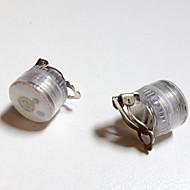 Unikalna konstrukcja doprowadziła kolczyki Light Light up bling akcesoria firm szpilki ucha tańczyć dance party barze dziewczynę