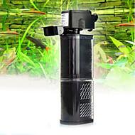 أحواض السمك مرشحات توفير الطاقة قابل للتعديل بلاستيك AC 220-240V