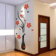 voordelige -Botanisch Muurstickers 3D Muurstickers Decoratieve Muurstickers,Vinyl Huisdecoratie Muursticker Wand
