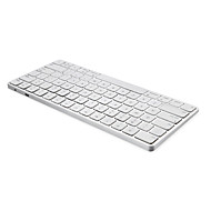 abordables Teclados-motospeed Bluetooth 78 Office Keyboard Mini Recargable