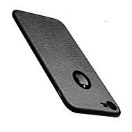Για iPhone 8 iPhone 8 Plus iPhone 7 iPhone 7 Plus iPhone 6 Θήκες Καλύμματα Εξαιρετικά λεπτή Πίσω Κάλυμμα tok Συμπαγές Χρώμα Μαλακή TPU για