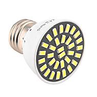 1kpl 5W 500-600 lm E26/E27 LED-kohdevalaisimet T 32 ledit SMD 5733 Koristeltu Lämmin valkoinen Kylmä valkoinen 2800-3200/6000-6500K AC