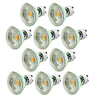 gu10 led spotlight mr16 1 kolf 500lm warm wit koud wit 2700-6500k dimbaar ac 220-240v 10st