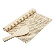 2 kpl Rice pallot lasta Sushi-väline For Rice Bambu Ympäristöystävällinen Korkealaatuinen Creative Kitchen Gadget