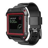 ПК прочная защитная рама с силиконовым ремешком полосы для Fitbit полыхают смарт-часы