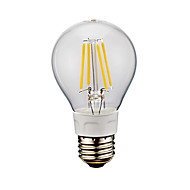 cheap LED Filament Bulbs-4W E26 LED Filament Bulbs A19 4 COB 400/500lm Warm White/ Cool White 120V 1 pcs