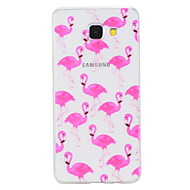 voordelige Galaxy A-serie hoesjes / covers-hoesje Voor Samsung Galaxy A5(2017) A3(2017) Transparant Patroon Achterkant dier Zacht TPU voor A3 (2017) A5 (2017) A5(2016) A3(2016)