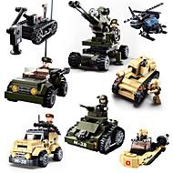 お買い得  -Sluban ブロックおもちゃ 軍用ブロック 建設セット玩具 928 pcs 軍隊 戦車 Soldier 互換性のある Legoing クリエイティブ クール クラシック・タイムレス シック・モダン カトゥーン 男の子 女の子 おもちゃ ギフト / 知育玩具