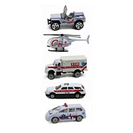 Vehicle Playsets Die-Cast Vehicles Toy Cars Ambulance Vehicle Toys Car Metal Alloy Plastic Metal Classic & Timeless Chic & Modern Pieces